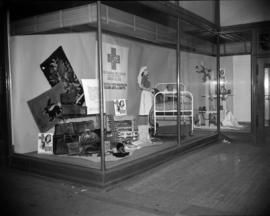 [Red Cross window display]
