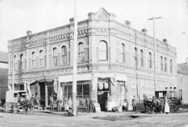 [Exterior of C.F. Foreman Wholesale and Retail Grocer on the northeast corner of Westminster Aven...