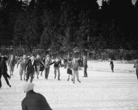 Skating, Lost Lagoon
