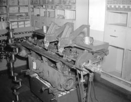 Lathe reboring engine [at] McKenzie, White and Dunsmuir Limited