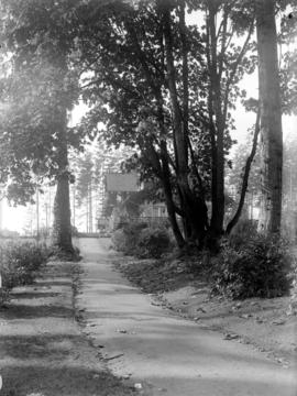 [Path leading to] Refreshment Pavilion, Stanley Park