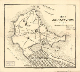 Map of Stanley Park, Vancouver, B.C.