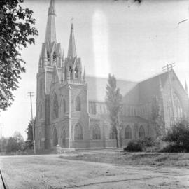 Holy Rosary Cathedral on Dunsmuir Avenue at Richards Street
