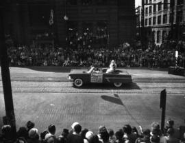 CKNW car in 1952 P.N.E. Opening Day Parade