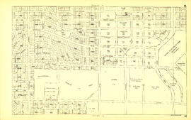 Sheet M : Granville Street to Kersland Drive and Twenty-seventh Avenue to Thirty-eighth Avenue