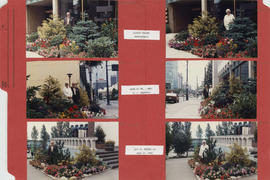 Mr. P.J. Molenaar [pictures of new gardens at 1477 West Pender Street]