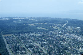 [Aerial view from helicopter] - West Point Grey