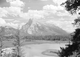 [View of] Mount Rundle