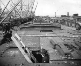 Hull No. 105 [under construction at West Coast Shipbuilders Limited]
