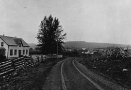 [View of 150 Mile House on the Cariboo Road]