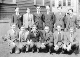 [Group of male students at British Columbia Government Normal School]