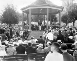 Opening ceremony, Canadian Pacific Exhibition, 25th anniversary, 1934