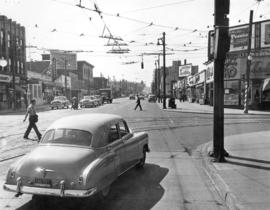 [Granville Street at Broadway, looking south]
