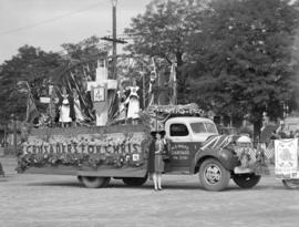 Jubilee Parade [Crusader's for Christ float]