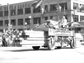 Jubilee Parade Lumber Carrier Service float