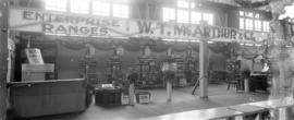 [Exhibition display of W.T. McArthur & Co. (formerly Pacific Stove & Furnace Co.) Enterpr...