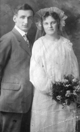 [Mr. and Mrs. (nee Buela Vermilyea) Norman Johnston]