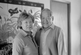 Anne and Wing Loo, retired grocers
