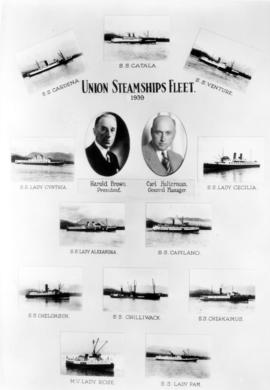 Union Steamships Fleet