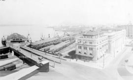 C.P.R. Station and Docks, Vancouver, B.C.