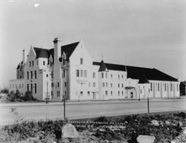 Postcard of Seaforth Highlanders Armoury, May 22, 1936