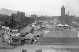 B.P.O. Elks circus, Cambie grounds