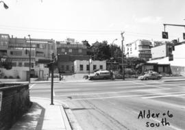 Alder [Street] and 6th [Avenue looking] south