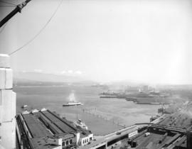 View of Vancouver Harbour from [the] Marine Building