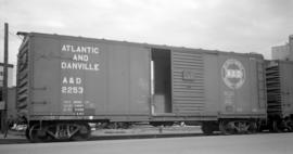 Atlantic and Danville [Railway Boxcar #2253]