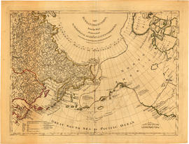 The Russian discoveries from the map published by the Imperial Academy of St. Petersburg