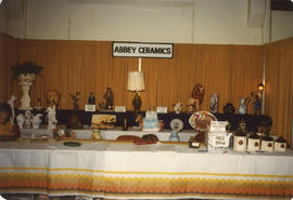 Abbey Ceramics display booth