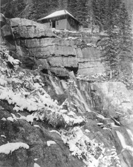 [Tea Room at Lake Agnes]