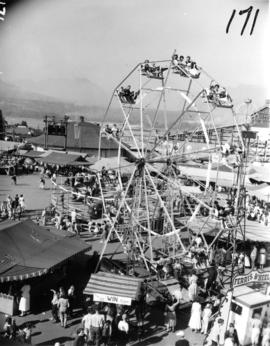 Ferris wheel in P.N.E. Gayway