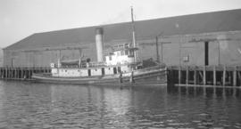S.S. Qualicum [at dock]