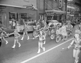 [Parade for the Miss Kerrisdale pageant]