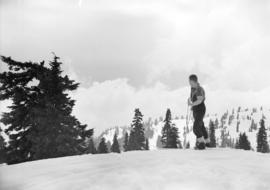 [Skier on Mt. Seymour]