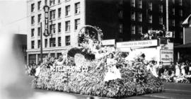 B.C. Telephone Company float in a parade