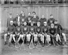 [Group photo of Westminster Lacrosse Club]