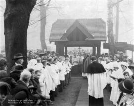 Dedication of Lych Gate St. James Church