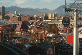 [Expo 86 grounds, view]