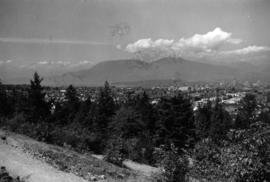 [View looking northwest from Queen Elizabeth Park]