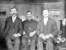 [Portrait of] Mr. McCulloch, Mr. McCulloch and Mr. McLean