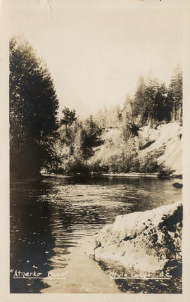 """Atnarko"" River,"" Stuie Lodge, B.C."