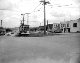 Streetcar at 16th and Dunbar