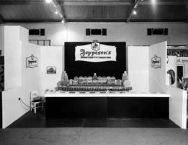 Jeppesen's display of candy products