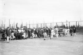 Opening of the B.C. Electric Lawn Tennis Club, June 12 '13 by Mrs. R.H. Sperling