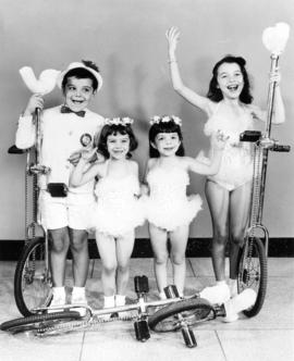 The Golden Kids : [publicity photo of circus performers]