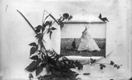 Cree Indian camp, Medicine Hat