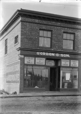 Gordon & Son Hardware [exterior view of the building]