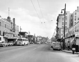 [Granville Street at 11th Ave, looking south]